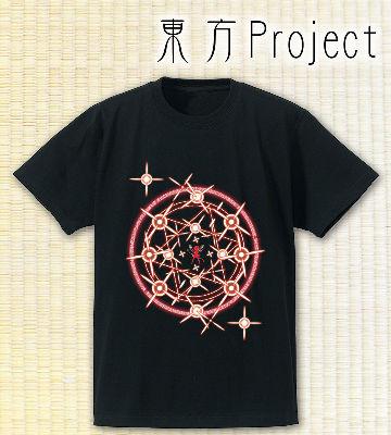 Spell Card Tシャツ 〜フランドール・スカーレット〜(ブラック)