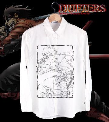グラフィックカジュアルシャツ(島津豊久)