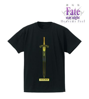 箔プリントTシャツ(エクスカリバー)
