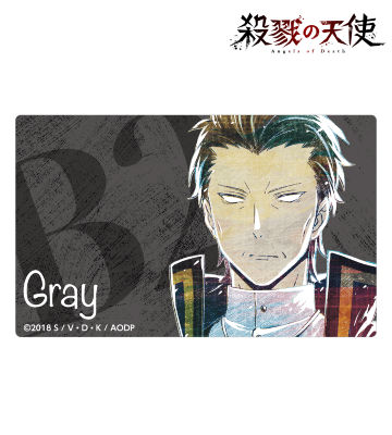 グレイ Ani-Art カードステッカー