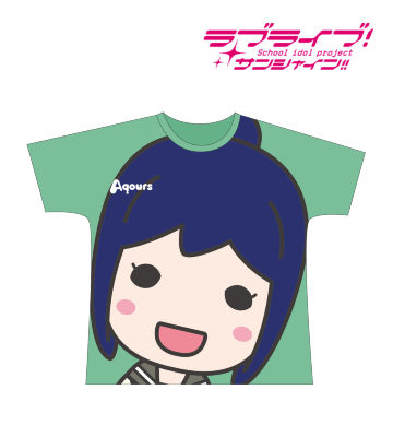 フルグラフィックTシャツ(松浦果南)