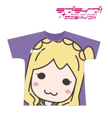フルグラフィックTシャツ(小原鞠莉)