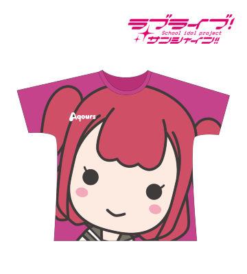 フルグラフィックTシャツ(黒澤ルビィ)